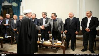 Members of The Iran HIMT met Hashemi Rafsanjani